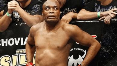 UFC legend Anderson Silva.