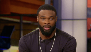UFC welterweight champion, Tyron Woodley.