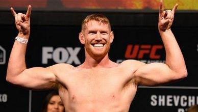 """Smiling"" Sam Alvey is going to step in on seven days notice to fight at the UFC Fight NIght Poland card headlined by Donald Cerrone vs. Darren Till."