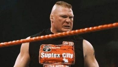 Brock Lesnar, former UFC champion.
