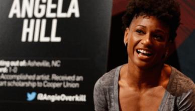 UFC strawweight contender Angela Hill