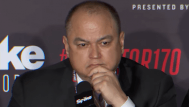 Bellator CEO, Scott Coker.