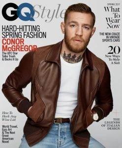 Conor McGregor on GQ Magazine