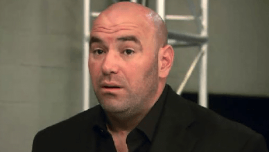 UFC President, Dana White.