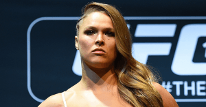 Former UFC bantamweight champion Ronda Rousey.