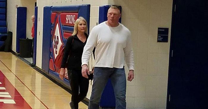 Brock lesnar daughter