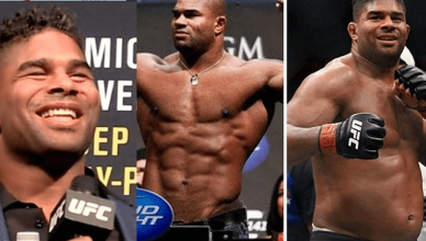 Alistair Overeem before and after the UFC drug testing program, USADA.