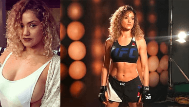 Former UFC fighter now Invicta fighter, Pearl Gonzalez.