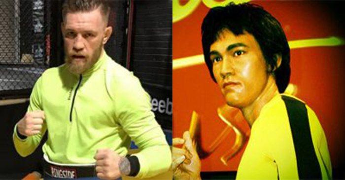 Conor McGregor vs  Bruce Lee - The EA UFC Sim Plays It Out