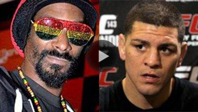 Snoop Dogg can't believe Nick Diaz!
