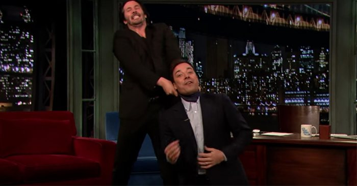 Watch Keanu Reeves Show Off His Real Life Fighting Skills In Jimmy