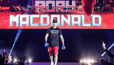 Bellator MMA welterweight and former UFC fighter, Rory MacDonald.