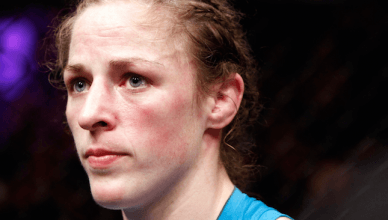 Former UFC bantamweight contender, Sarah Kaufman.