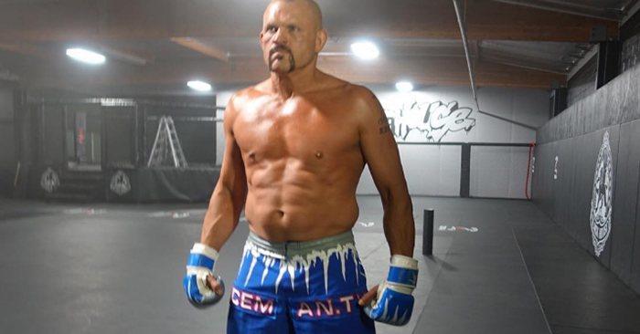 UFC legend Chuck Liddell.