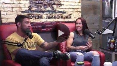 Cris Cyborg boyfriend goes all in on Joe Rogan