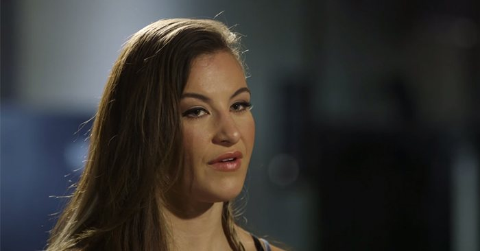 Former UFC bantamweight champ Miesha Tate clarified her anti-autograph remarks, after saying it's her blood that was spilled, not theirs.