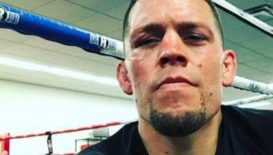 UFC star, Nate Diaz.