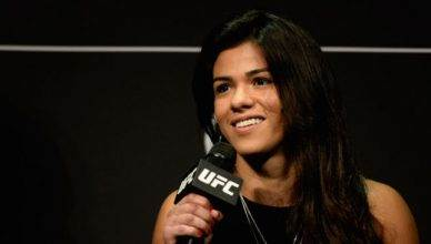 UFC strawweight contender Claudia Gadelha.