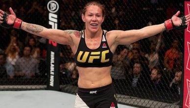 UFC champion, Cris Cyborg.