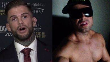 Cody Garbrandt was beefing with Matthew Kline Kader.