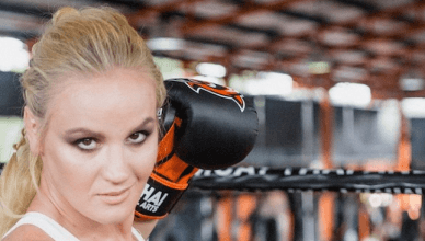 UFC bantamweight star Valentina Shenchenko.