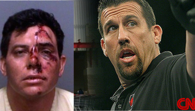 Referee Big John McCarthy allegedly had to beat up a few guys.