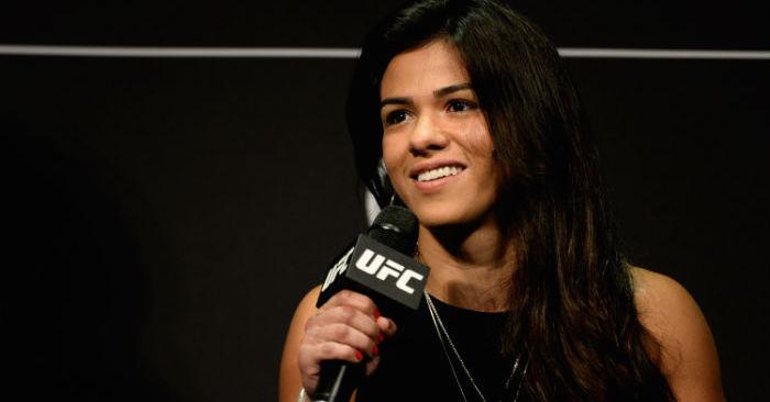 UFC's Claudia Gadelha.