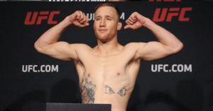 Top ranked UFC lightweight contender, Justin Gaethje.