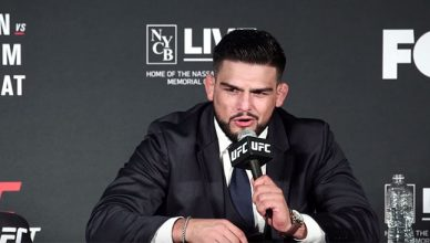 Top ranked UFC middleweight contender, Kelvin Gastelum.
