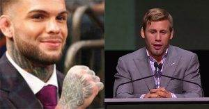 Cody Garbrandt and Urijah Faber.