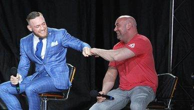 Conor McGregor and Dana White.