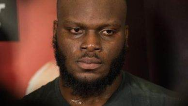 Top ranked UFC heavyweight contender Derrick Lewis.