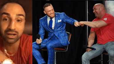 Conor McGregor ready to fight Pauli Malignaggi in the UFC.