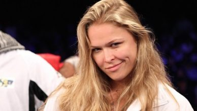 Ronda Rousey already training for her WWE run.