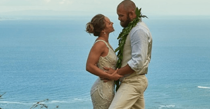 Ronda Rousey And Travis Browne Wedding Photos