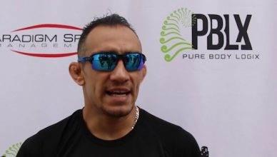 UFC lightweight contender Tony Ferguson0 fires back at MMA's top journalist, Ariel Helwani.