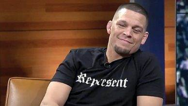 UFC's Nate Diaz.