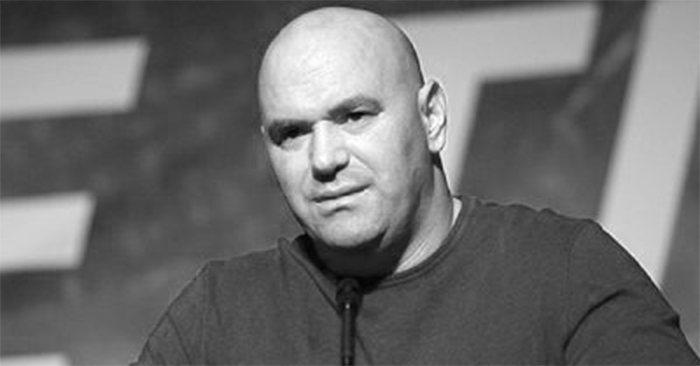 UFC boss Dana White.