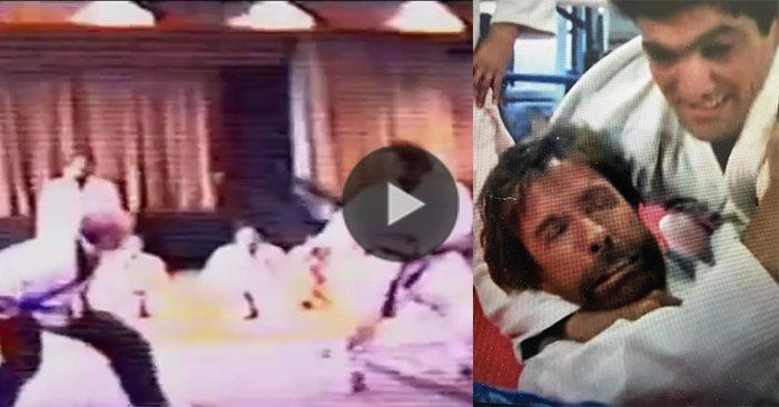Chuck Norris vs Rickson Gracie