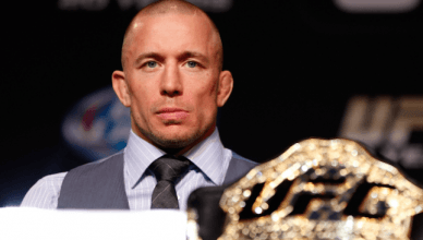 UFC middleweight champion, Georges St-Pierre.