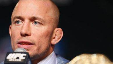 Former UFC middleweight champion, Georges St-Pierre.