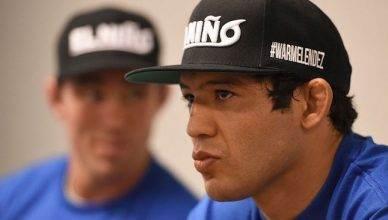 UFC lightweight Gilbert Melendez.