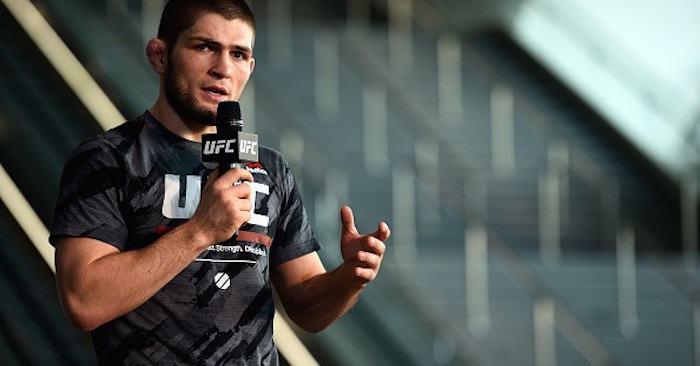 Top ranked UFC lightweight contender Khabib Nurmagomedov.