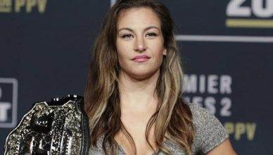 Former UFC bantamweight champ Miesha Tate made a comment about autograph seeking fans making money off her sig, but it's now a full blown Twitter argument.
