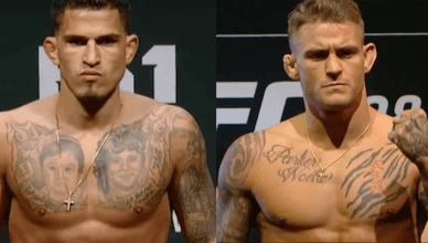Anthony Pettis and Dustin Poirier.