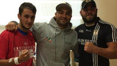 Former UFC lightweight champion, Eddie Alvarez.