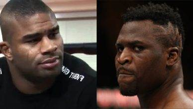 Alistair Overeem and Francis Ngannou.