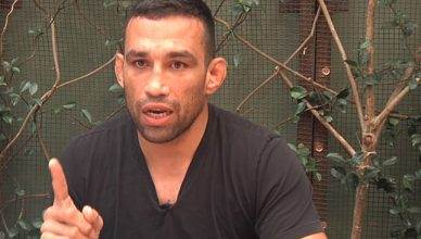 Former UFC heavyweight champion Fabricio Werdum after his argument with Tony Ferguson.