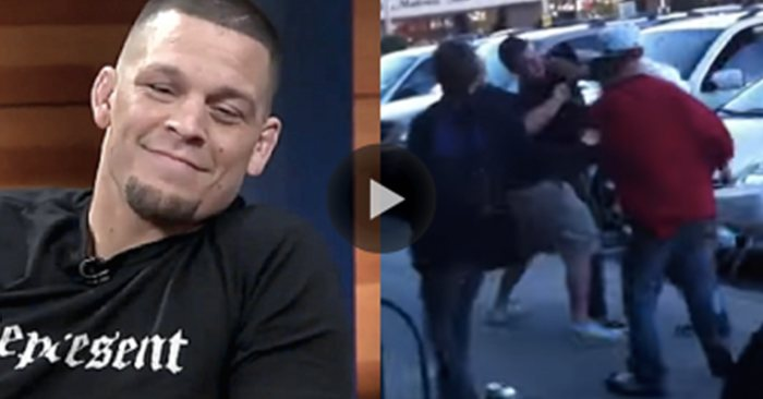 Nate Diaz Street Fight Whole Foods