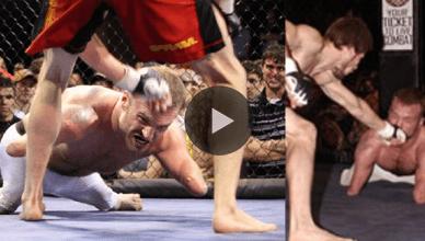 Watch inspirational jiu-jitsu fighter. wrestler and mixed martial artist Kyle Maynard make his MMA debut in Alabama.